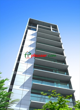 Picture of 1600 SQ FT ready commercial building in Uttara Sector 6, is vacant for Rent.