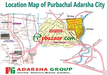 Plot at Purbachal Adarsha City এর ছবি