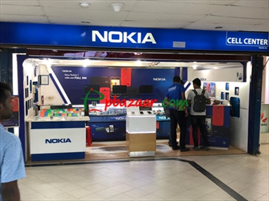 Rifles Square Market ,3 floor, 2 shop sales Nokia and Huawei এর ছবি