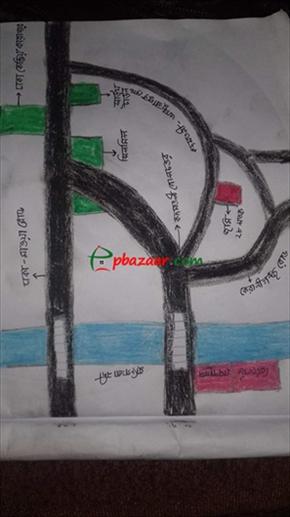 কারখানা/মার্কেট এর জন্য মেইন রোডের সাথে ভরাটকৃত জমি এর ছবি