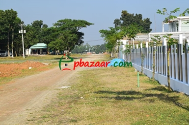 Picture of plot at purbachal navana highland