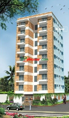 Picture of 1450sft south facing apartment at Bonosree