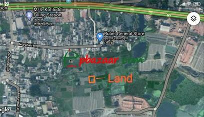 Picture of গাবতলীর কাছেই, সাভারের হেমায়েতপুরে ১৩.৫ শতক জমি বিক্রয় হবে
