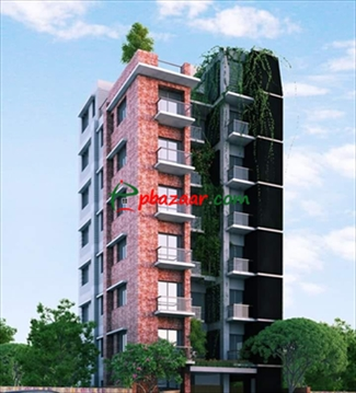 Picture of Brand New 1575 sft Apartment for Sale in Bashundhara