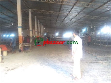 Picture of 65000 Sft Shed Building Factory/ Warehouse Rent At Gazipur