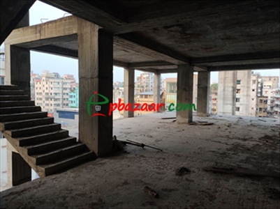 3600 sq ft Commercial Space FOR RENT in Shahjadpur Gulshan (10 storied building all floors for rent) এর ছবি