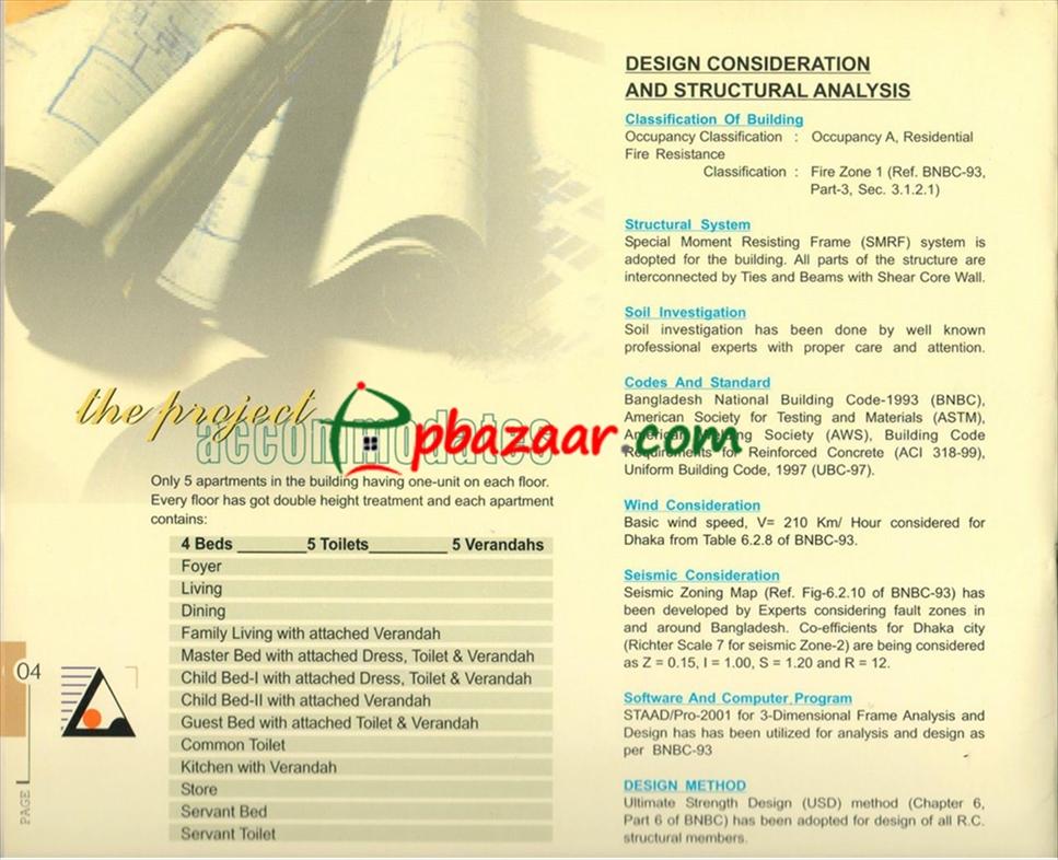 Shaptak Ovearlea, Baridhara Flat for Sale/Rent   pbazaar com