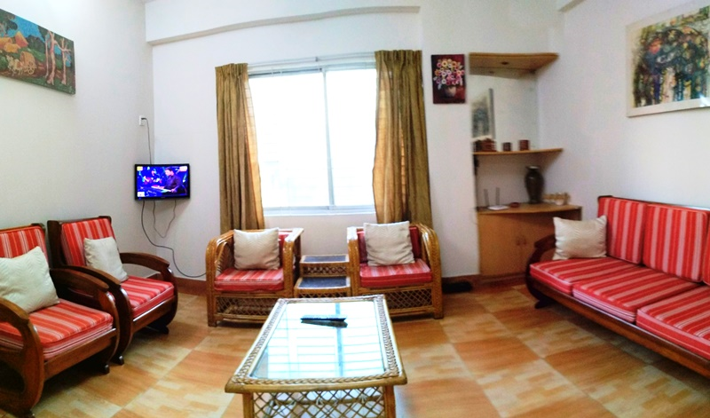 Picture of 1050 sqft Fully furnished apartment for rent with good interior design at prime and excellent location of Uttara model town