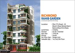 Picture of 1560 Sft Apartment for Sale at Bashundhara