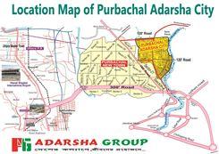 5 Katha Plot at Purbachal Adarsha City এর ছবি