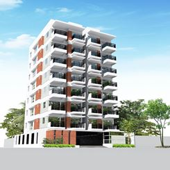 1500 sq-ft. 3 Bedroom Apartment for Sale in Hyperion South simphony at plot-05 & block-19, pallabi. এর ছবি