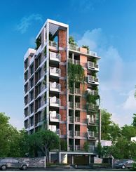 Picture of South face flat 1265 sft near Playpen school Bashundhara
