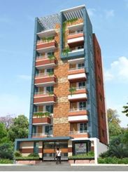 Picture of South Face Single Unit Apartment @ Sector-11, Uttara, Dhaka, Bangladeh.
